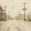 North Liberty Street, looking toward Seventeenth Street, 1933.