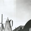 The Coffee Pot on Main Street, before it was moved down the street to a new location, 1959.
