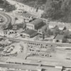 Aerial showing Hanes Dye and Finishing Company, 1954.