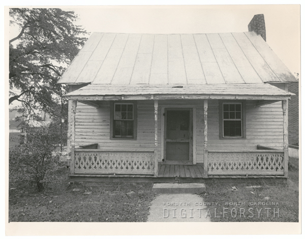 House at 115 N. Green Street that was formerly a log school, 1984.
