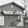 The Loyd house on the property of Glenn McGee in King, 1967.