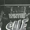 Woman shopping downtown during Bargain Days, 1967.