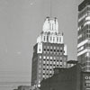 Skyline view of the Reynolds and Wachovia Buildings, from Marshall Street, 1967.