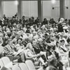 """Audience watching the """"Marriage of Figaro"""" opera performance at Reynolds Auditorium, 1967."""