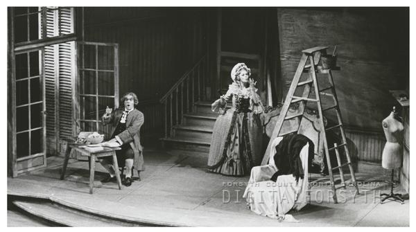 'Marriage of Figaro' opera performance at Reynolds Auditorium, 1967.