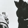 Statue of Colonel Joseph Winston at Guilford Battleground, 1967.