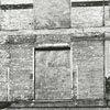 Wall showing the brickwork on South Liberty Street, 1967.