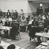 School Board meeting at Granville School concerning teachers' salaries, 1967.