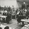 School Board meeting at Granville School concerning teachers' salaries, 1967.