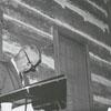 Jim Gardner (left) speaking at a meeting in Clemmons, 1967.