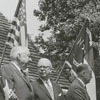 Celebration commemorating the first Fourth of July observance in Salem, 1966.
