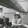 Dorris Highsmith, Donald Fuller and Jane Fuller at High Rock Lake, 1966.