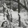 Linda Lee Reynolds playing the bass, 1965.