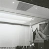 Interior view of the Salem Fine Arts Center, 1965.