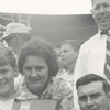 Soap Box Derby champ, Donnie Dickerson, and family, 1965.