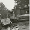 Accident involving a fuel oil truck and a Southern Railway freight train, 1965.