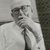 Robert B. Crawford Jr. at the Weeks Division of Hanes Hosiery, 1965.