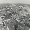 Aerial view of downtown looking north from the Wachovia Building, 1965.