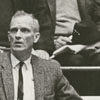 "Wake Forest basketball coach, Horace ""Bones"" McKinney, 1964."