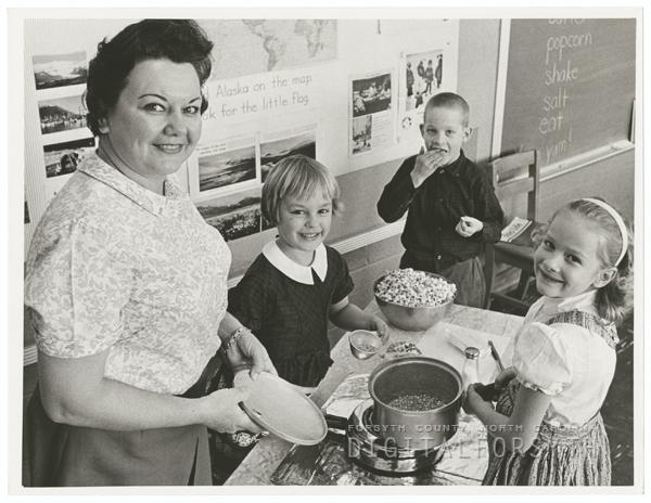 Mrs. Mary Worth Ferguson, 1964.