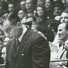 Duke University basketball coach, Vic Bubas, 1964.