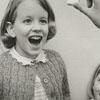 Children taking the polio vaccine on sugar cubes, 1964.