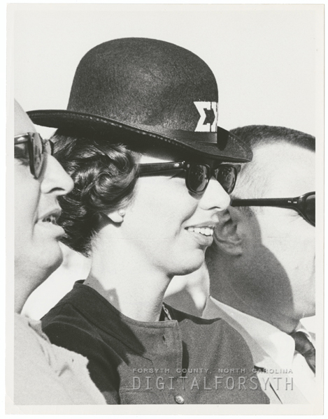 Sigma Chi Fraternity Derby Day celebration at Wake Forest, 1964.