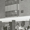 Open house at the new Forsyth Memorial Hospital, 1964.