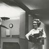 Nurse packing at City Memorial Hospital, 1964.