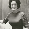 Kenny McArver, formerly Miss Charlotte, now working for Southern Bell, 1964.