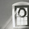Light coming in the window of the Single Brothers House in Old Salem, 1964.