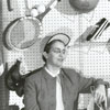 Mary Garber,  sports writer for the Winston-Salem Journal, 1958.