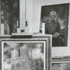 Workshop of artist Joseph Wallace King, 1963.