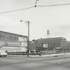 View of the 300 block of North Main Street, looking southeast, 1963.