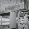 Renovation work on Reynolds Auditorium, 1963.