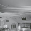 Renovation work on Reynolds Auditorium, 1963.