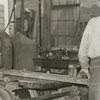 Fogle Brothers Lumber Company, interior view, 1938.