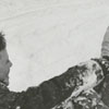 David Enochs and Ken Hege playing in the snow, 1962.