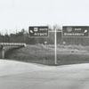 Interstate 40 signs, 1962.