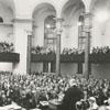 Presbyterian meeting at First Baptist Church, 1962.