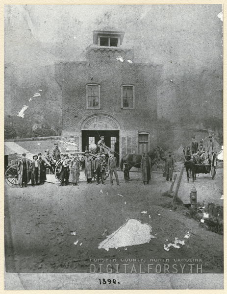 Eighth Street Fire Station, 1890.