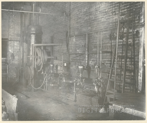 Interior of F. & H. Fries Mill.