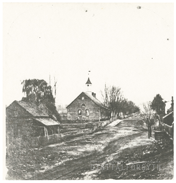 Bethabara Moravian Church.