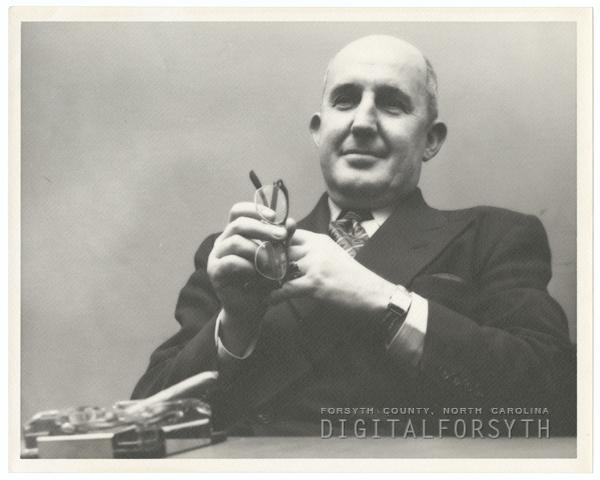 Mayor Marshall Kurfees, 1953.
