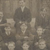 Freshman class at the Salem Boys School, 1905-1906.