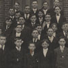 Junior class at the Salem Boys School, 1908-1909.