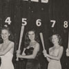 Contestants for the Miss Carolina League beauty contest, 1950.