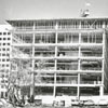 Construction of the Hall of Justice, 1973.