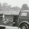 LaFrance fire truck (1948), to be sold at auction by the city, 1973.