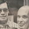Wake Forest University football player, John Hardin, and Coach Chuck Mills, 1973.